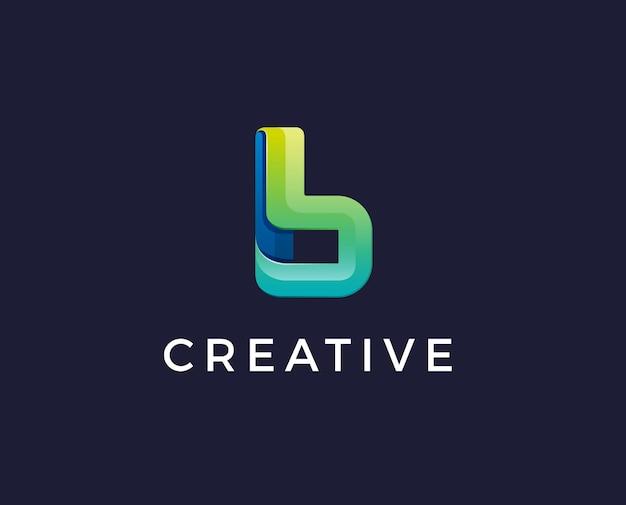 Conception De Lettre B Logo.b Vecteur Premium