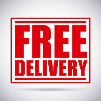 Conception de livraison gratuite