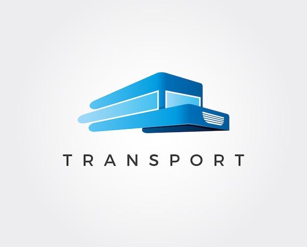 Sur la conception de logo de camion de route illustration d'image vectorielle lourde conception de vecteur conception de vecteur facile à modifier