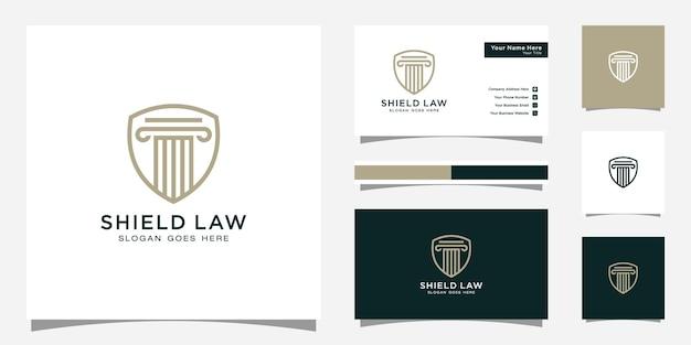 Conception de logo et carte de visite pour le cabinet d'avocats