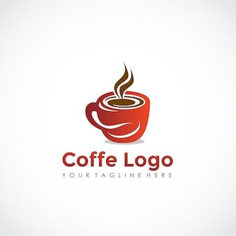 Conception de logo coffe