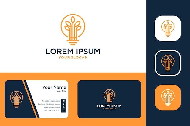Conception de logo créatif et carte de visite d'usine d'art en ligne