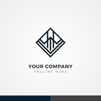 Conception de logo d'entreprise abstraite