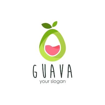 Conception de logo de goyave