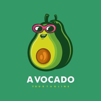 Conception de logo de mascotte de dessin animé d'avocat