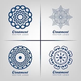 Conception de logo ornemental