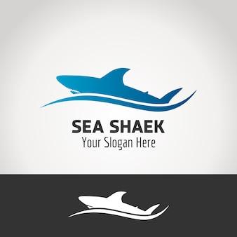 Conception de logo shark