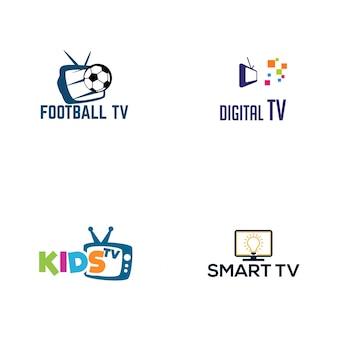 Conception de logo tv
