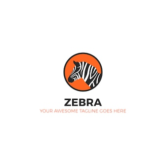 Conception de logo zebra