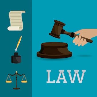 Conception de la loi et de l'ordre.