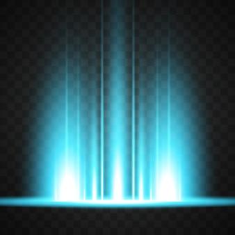 La conception des lumières colorées