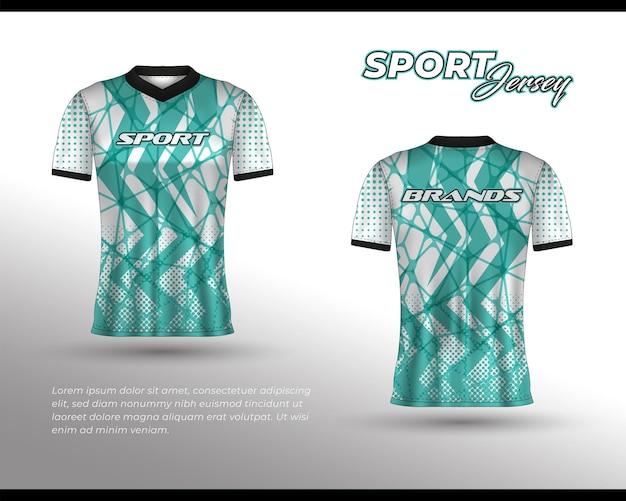 Conception de maillot de course de sport