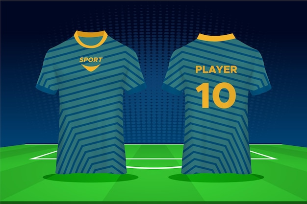 Conception de maillot de football