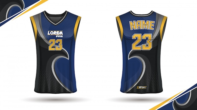 Conception de maillots de basket