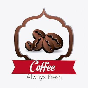 Conception de la maison de café.