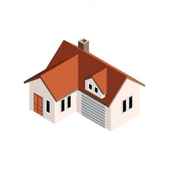 Conception de la maison en perspective