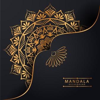 Conception de mandala de luxe