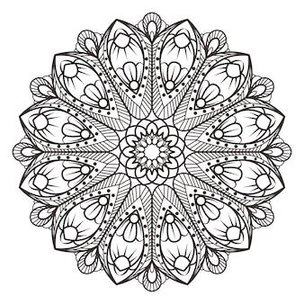 Conception de mandala symétrique