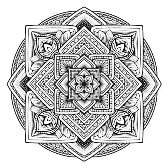Conception de mandala