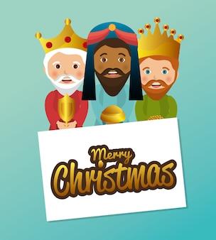 Conception de mangeoire trois rois sage