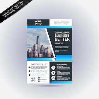 Conception de maquette de brochure d'entreprise