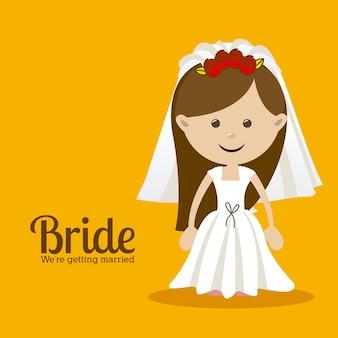 Conception de la mariée