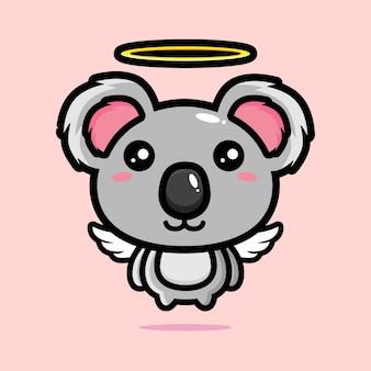 Conception de la mascotte du personnage de panda mignon