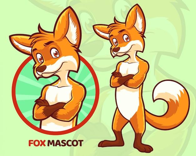 Conception de mascotte de renard