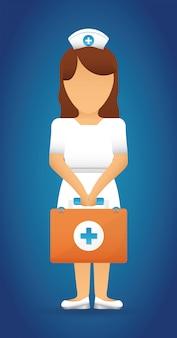 Conception médicale. illuistration