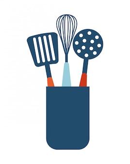 Conception de menus sur illustration vectorielle fond blanc