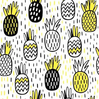 Conception de modèle d'ananas