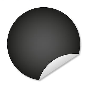 Conception de modèle de bannière de vente illustration de balck