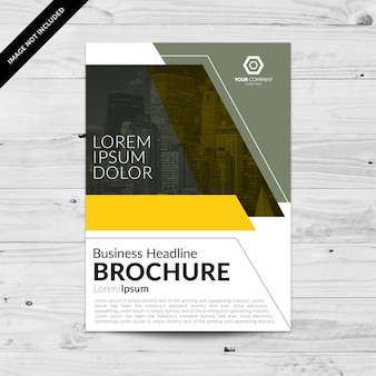 Conception de modèle brochure