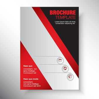 Conception de modèle brochure