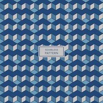 Conception de modèle de couverture avec motif géométrique bleu et gris