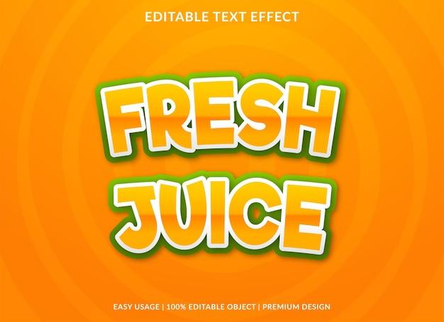 Conception de modèle d'effet de texte rétro avec style abstrait