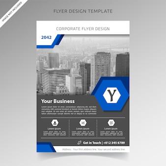 Conception de modèle de flyer d'entreprise professionnelle