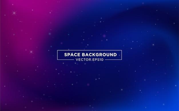 Conception de modèle de fond espace avec starlight abstraite