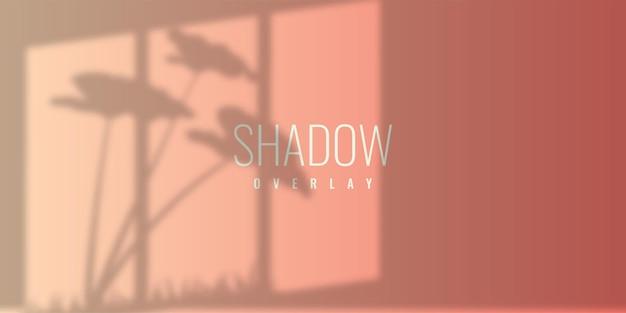 Conception de modèle d'illustration de fond de superposition d'ombre
