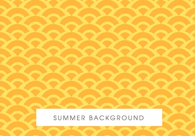 Conception de modèle jaune transparente de l'été