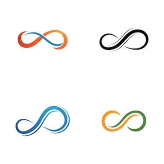 Conception de modèle de logo infinity design