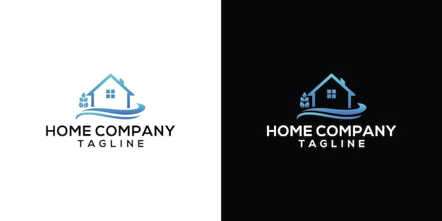 Conception de modèle de logo à la maison