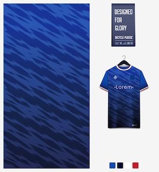 Conception de modèle de maillot de football textile