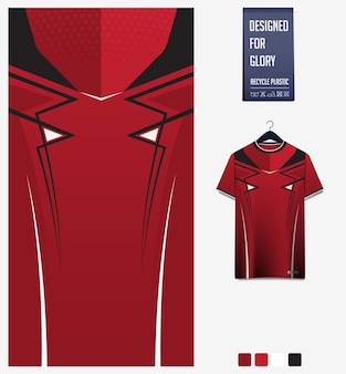 Conception de modèle de maillot de football
