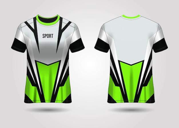 Conception de modèle de maillot de sport t-shirt