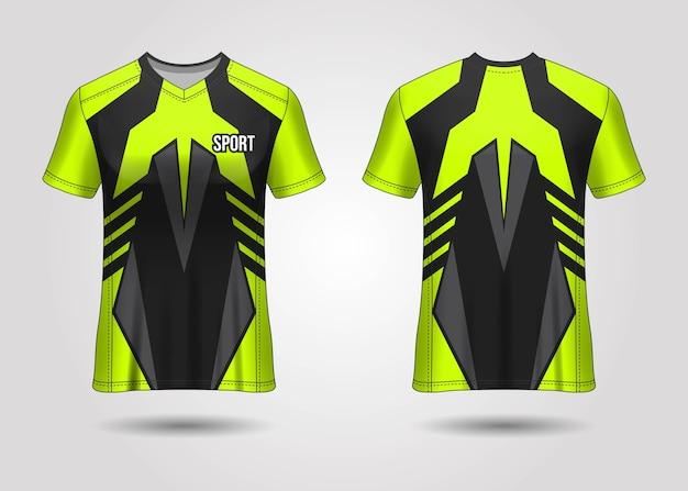 Conception de modèle de maillot de sport