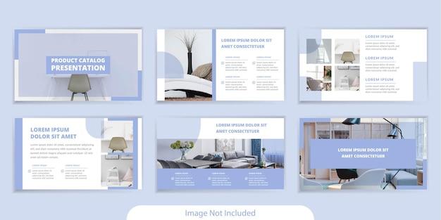 Conception de modèle de présentation de catalogue de produits