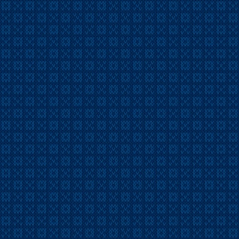 Conception de modèle de pull tricoté abstrait