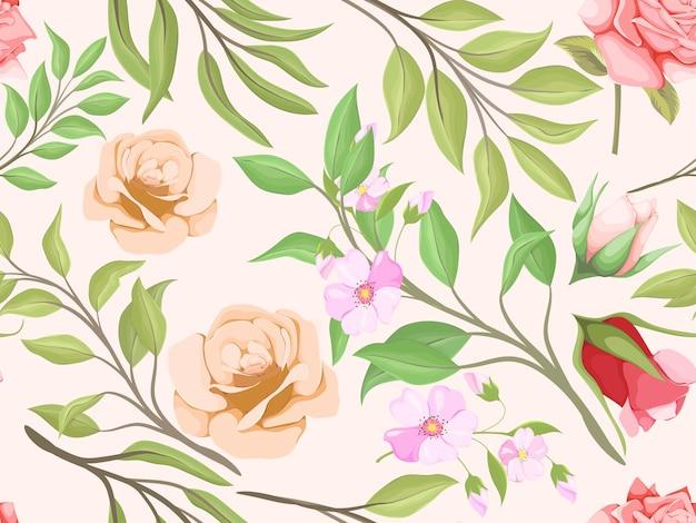 Conception de modèle sans couture pour l'impression textile et le modèle de conception de mode