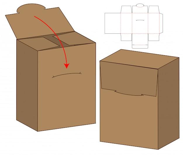 Conception de modèles découpés à l'emporte-pièce webbox